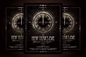 NYE - New Year Alternative Flyer