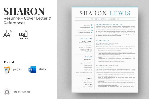 Professional Resume Format Example Creative Cover Letter