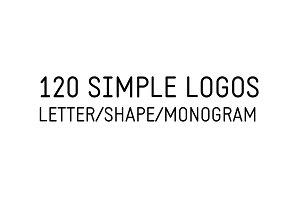 120 Simple Logos