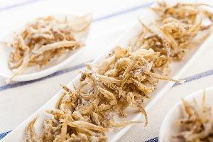 Spanish fish fritters