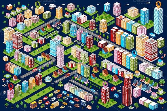 Big Bundle City in Objects