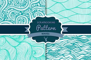 Waves pattern set 2