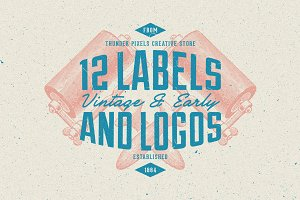 Vintage & Early Labels - Series 1