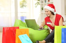 Fashion woman buying online for christmas.jpg
