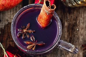refreshing drink sangria