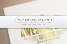 Logo Mock-ups Vol.1