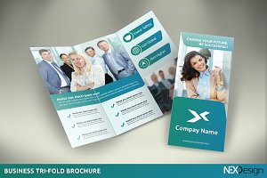 Business Tri-Fold Brochure -SK