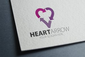 Heart Arrow Logo