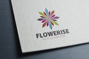 Flower Rise Logo