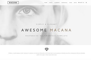 Macana - Multipurpose Template