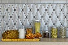 3D visualization of a kitchen decor