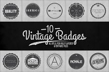Vintage Badges Vol.2