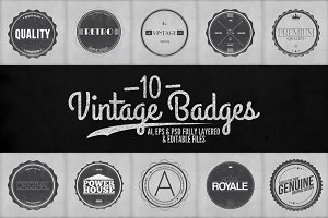 Vintage Badges Vol.2