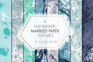 Marbled Paper Textures