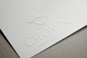 Crown Logo Template Design