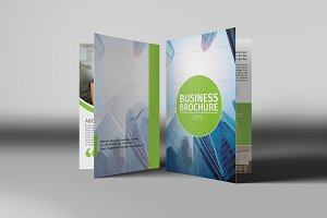 Corporate Bifold Brochure Vol 12
