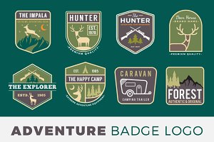 Adventure Badge Logo Template