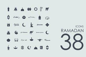 38 Ramadan icons