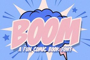 Bubble Boom - Graffiti Font | Stunning Display Fonts ...