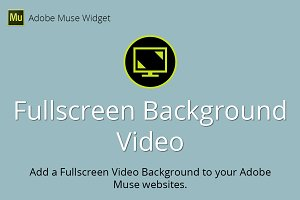 Fullscreen Background Video Widget