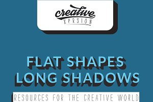 Flat Shapes Long Shadows Vol.1
