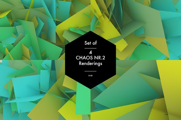 Chaos Nr.2 green - Graphics