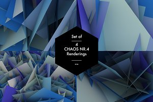 Chaos Nr.4 blue