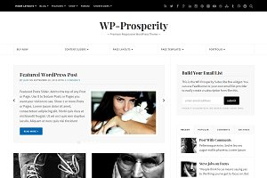 WP-Prosperity Magazine Theme