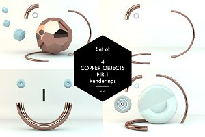Copper Objects Nr.1