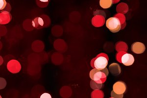 Red abstract blured background