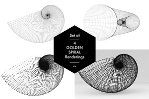 Golden Spiral Set