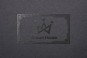 Crown House Logo Template