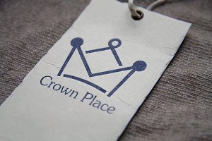 Crown Place Logo Template