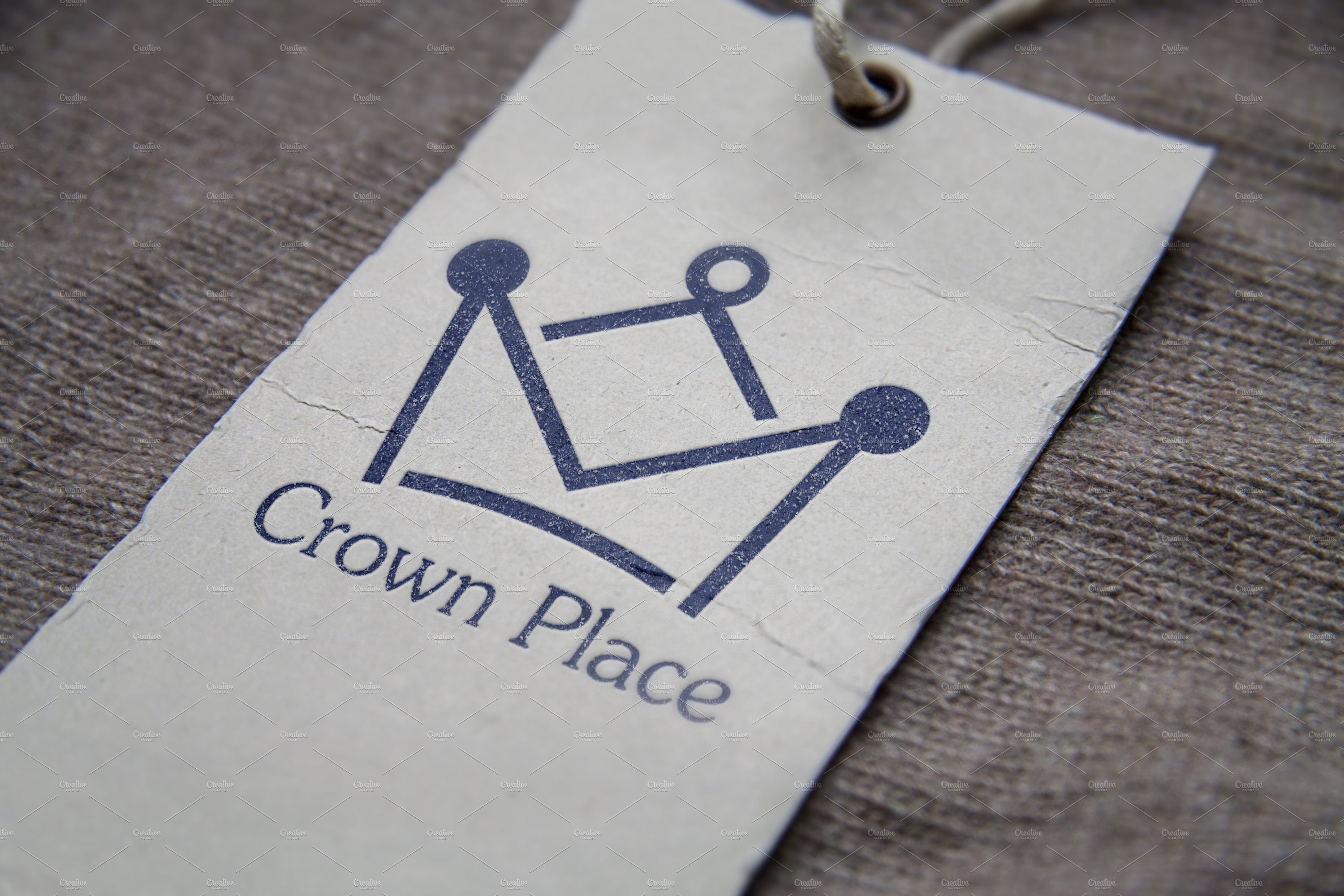 Crown Place Logo Template ~ Logo Templates ~ Creative Market