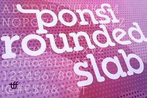 Ponsi Rounded Slab