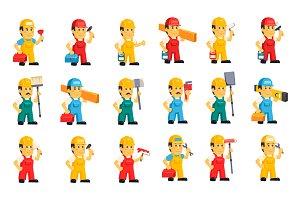 Character builder and repairman