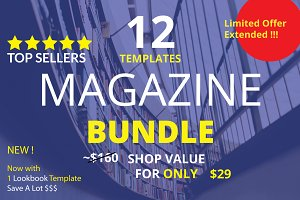 Mega Big Magazine Template Bundle