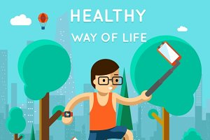 Healthy way of life