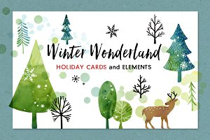 Winter Wonderland Christmas Cards