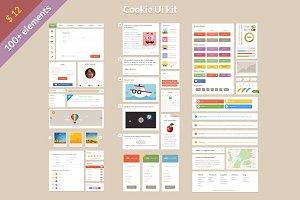 Cookie UI Kit