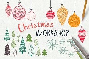 HandDrawn Christmas Workshop