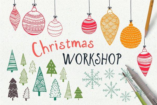 HandDrawn Christmas Workshop