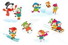 Winter Games Set