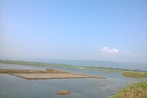 Scenary of haor area