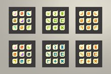 Сreative symbols collection