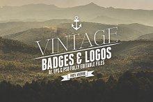 Vintage Badges & Logos Vol.3