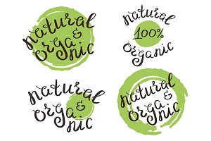 Natural & organic labels set
