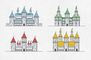 Fairy Tale medieval сastles
