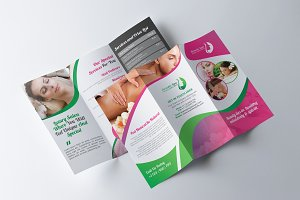 Tri fold Spa Beauty Salon Brochure