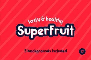 Superfruit Font